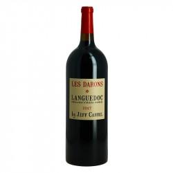 Les DARONS Vin Rouge du Languedoc By Jeff Carrel Magnum 1.5 l