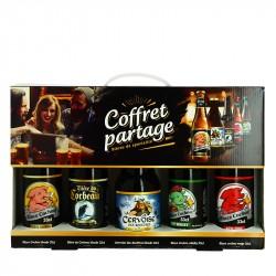 COFFRET de Bière de spécialités PARTAGE 5 x 33cl