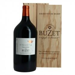 BUZET Vin Rouge du Sud-Ouest Tradition Double Magnum de 3 Litres