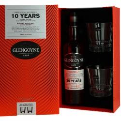 Glengoyne 10 ans Highlands Whisky Coffret + 2 Verres