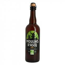Moulins d'Ascq Bière Blonde d'Eté BIO 75 cl