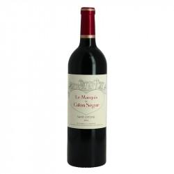 Marquis de Calon Saint Estèphe 2016 Second Vin de Calon Ségur