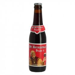 Saint BERNARDUS Prior 8 Bière Belge Brune Double 33 cl