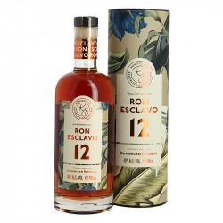 Rhum ESCLAVO Ron Solera 12 Rhum Dominicain Rhum Traditionnel