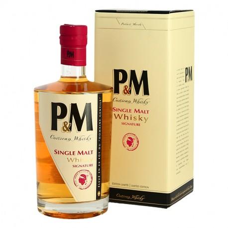 PM Single Malt Whisky Corse Signature