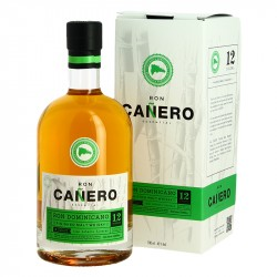 Rhum CANERO Finition fut de Whisky de Malt Solera 12 Rhum Traditionnel