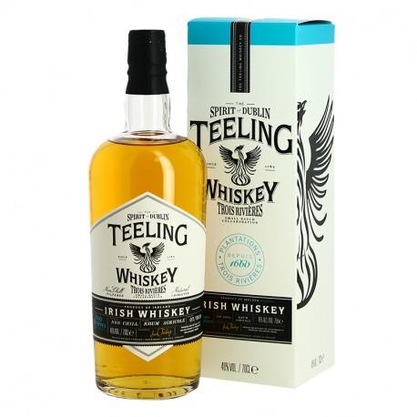 TEELING Irish Whiskey finition fût de Rhum 3 RIVIERES