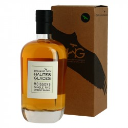 Single Rye Organic Whisky Domaine des Hautes Glaces