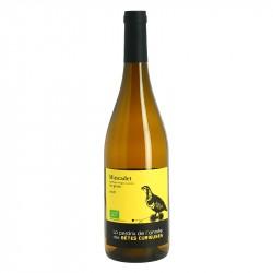 La PERDRIX de l'année des Bêtes Curieuses Muscadet Vin Blanc Biologique de la Loire