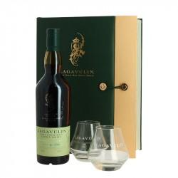 Coffret Lagavulin Distillers Edition 70cl + 2 Verres