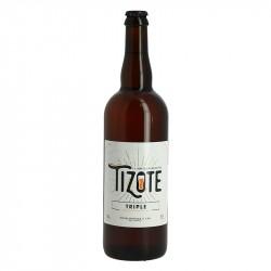 Bière TIZOTE Triple Blonde 75 cl