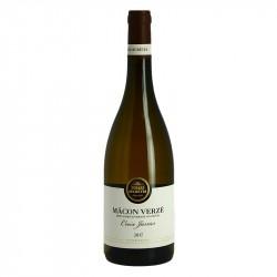 Macon Verzé Croix Jarrier par Terres Secrètes Vin Blanc de Bourgogne