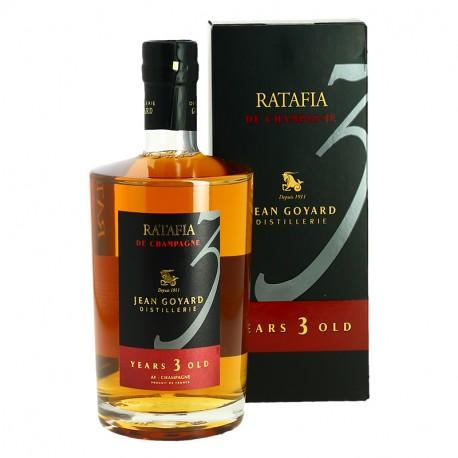 Ratafia de Champagne 3 ans Goyard