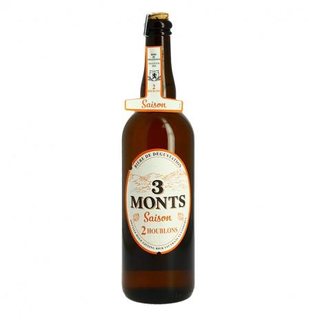 Trois MONTS Saison Bière aux 2 Houblons