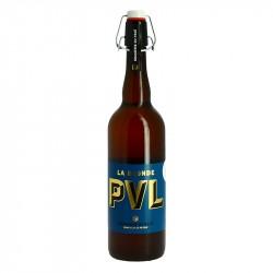 PVL bière Blonde Artisanale du Nord de la France