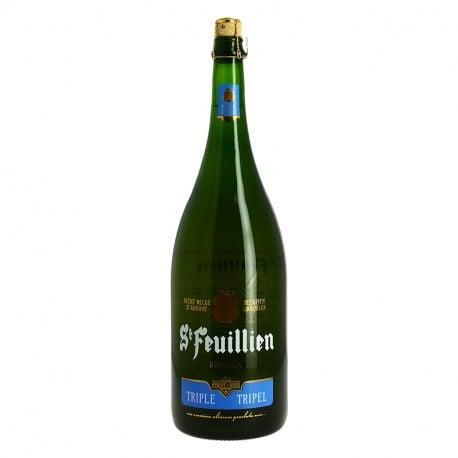 ST FEUILLIEN Bière TRIPLE 1.5 L