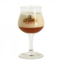 Verre Bière Kriek St Louis