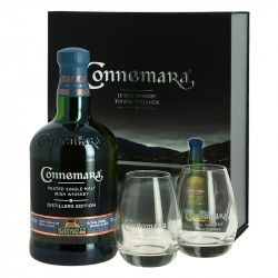 CONNEMARA Distiller's Edition + 2 Verres Whiskey Irlandais Tourbé