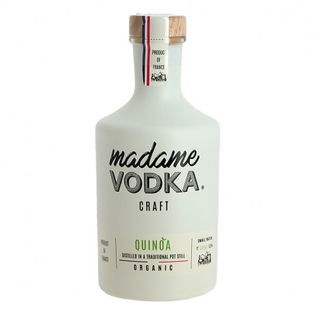 MADAME VODKA Vodka de Quinoa Issue de l'Agriculture BIO