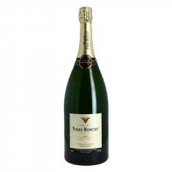 Magnum de Pierre Moncuit  Cuvée Hugues de Coulmet Champagne Blanc de Blanc