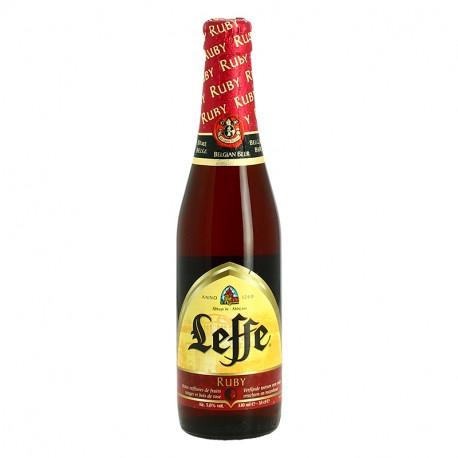 Leffe Ruby Bière Belge Rouge d'Abbaye  33 cl
