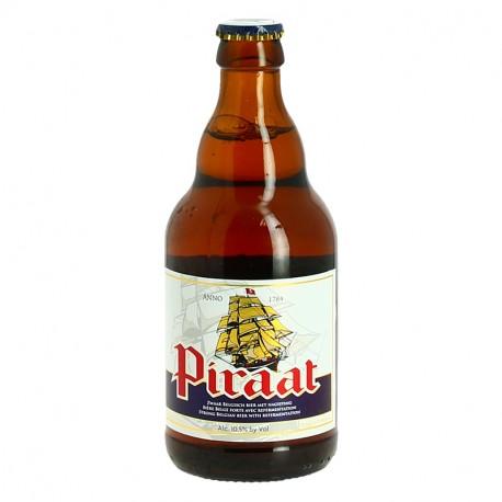 PIRAAT Bière Belge Forte avec Refermentation 33 cl