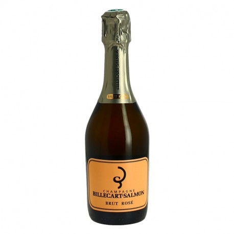 Champagne BILLECART SALMON ROSE demi bouteille champagne 37.5 cl
