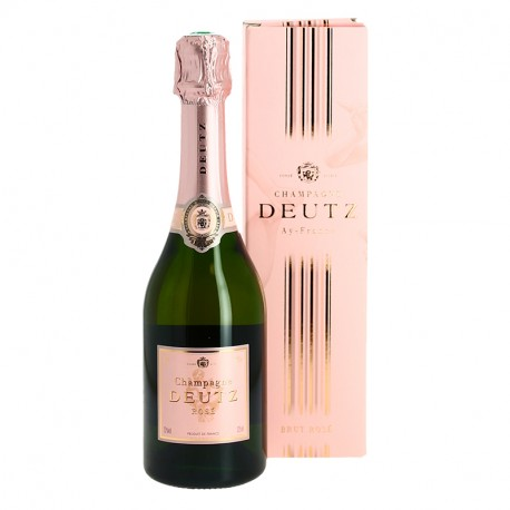 Champagne DEUTZ ROSE Demi Bouteilles de Champagne