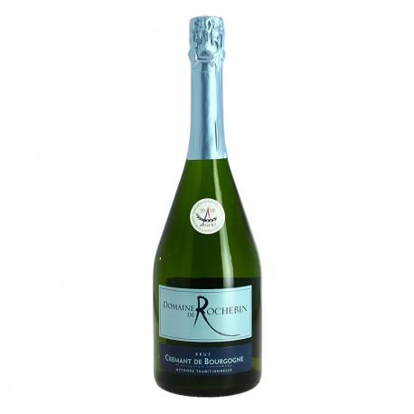 CREMANT de BOURGOGNE Blanc de Blanc Domaine de Rochebin 100 % Chardonnay 75 cl