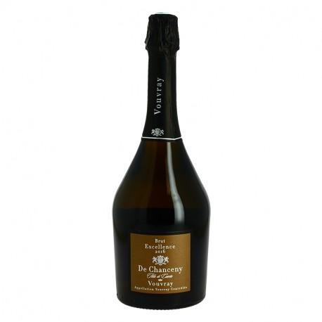 Vouvray Tête de Cuvée Brut Excellence de CHANCENY 75 cl