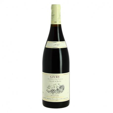 GIVRY Vin Rouge de Bourgogne Domaine PARIZE Clos de la Roche Grand vin de Bourgogne