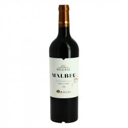 Original malbec Compté Tolosan Vin Rouge by Rigal