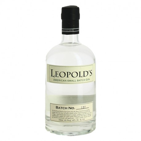 Leopold's American Small Batch Gin du Colorado