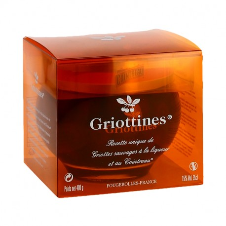 Coffret Griottines au Cointreau 35cl Distillerie Peureux