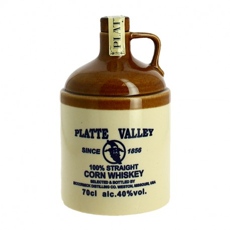 PLATTE VALLEY CRUCHON Corn Whiskey du Missouri 70 cl