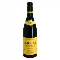GIVRY Rouge 1Cru BOIS GAUTHIERS Vin de Bourgogne par Michel SARRAZIN