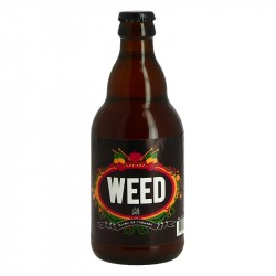 WEED Bière BLONDE au Chanvre 33 cl
