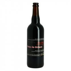 COUP de GRISOU Bière Noire Artisanale 75 cl