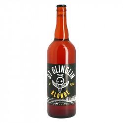 Saint GLINGLIN Bière BLONDE 75 cl