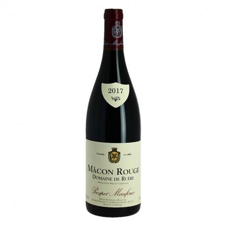 Mâcon Vin Rouge Prosper Maufoux Domaine de Ruère Vin de Bourgogne