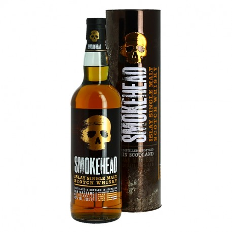 Smokehead Islay single Malt Scotch Whisky (The Rock edition)