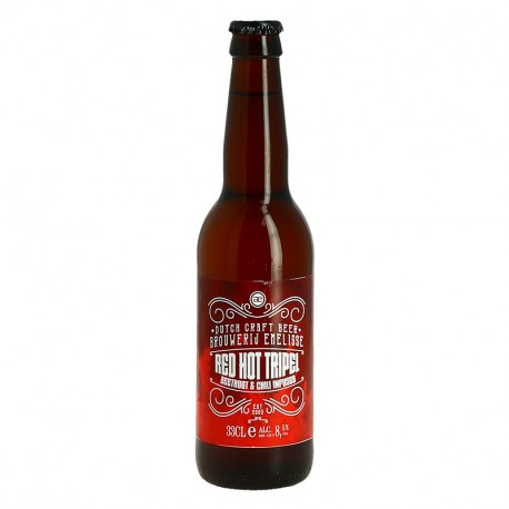 EMELISSE Red Hot Triple bière hollandaise 33 cl