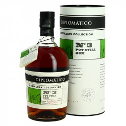 Rhum DIPLOMATICO Distillery Collection  N°3 POT STILL RUM