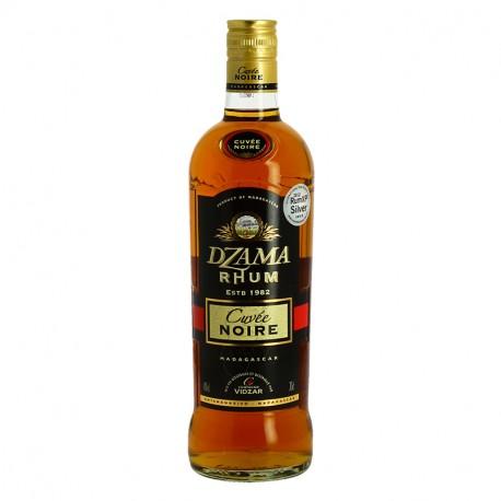 DZAMA CUVEE NOIRE Rhum Ambré de Madagascar 70 cl