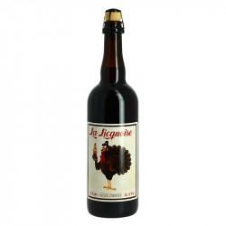 La LICQUOISE Bière Ambrée 75 cl
