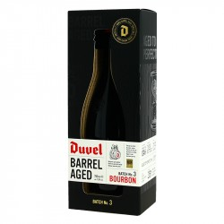 DUVEL Bourbon Barrel Aged Batch 3