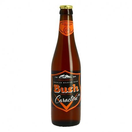 BUSH Caractère Bière Belge Ambrée 33cl
