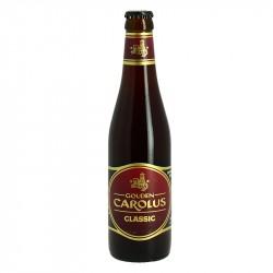 GOUDEN CAROLUS Classic Bière Brune Belge 33cl