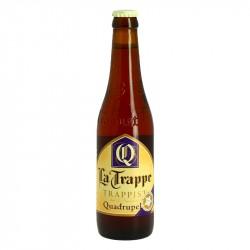 La Trappe Quadrupel Bière Trappiste 33cl de Hollande