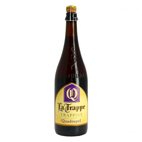 La Trappe Quadrupel Bière Trappiste de Hollande 75cl